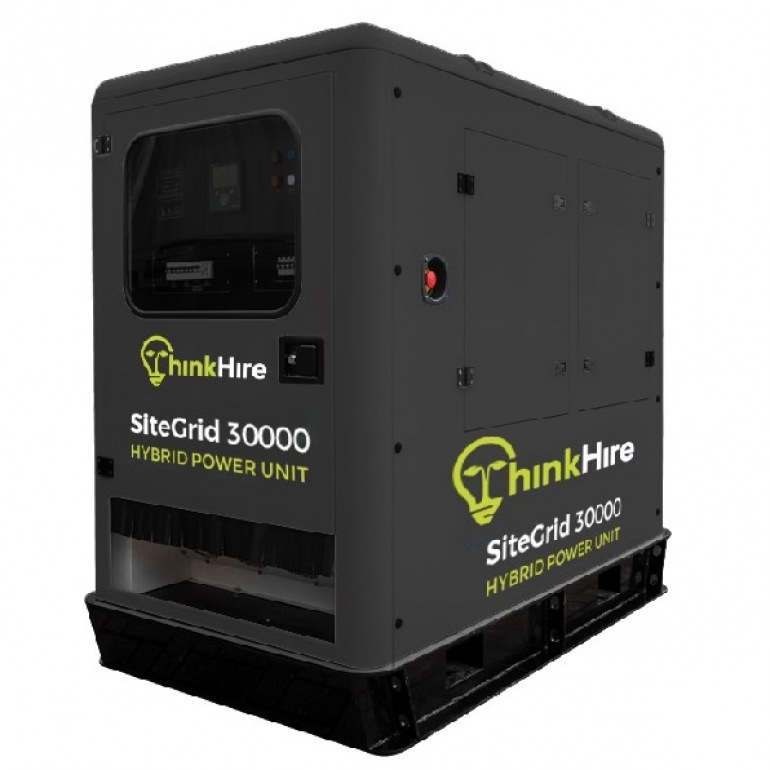 Hybrid Generators & Battery Storage Units