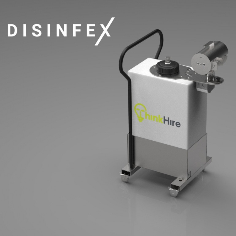 Disinfex - Portable Sanitiser Office