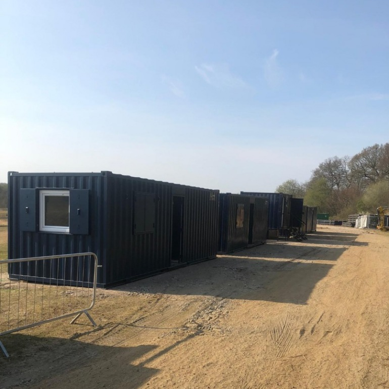 32' Eco Site Accommodation Complex