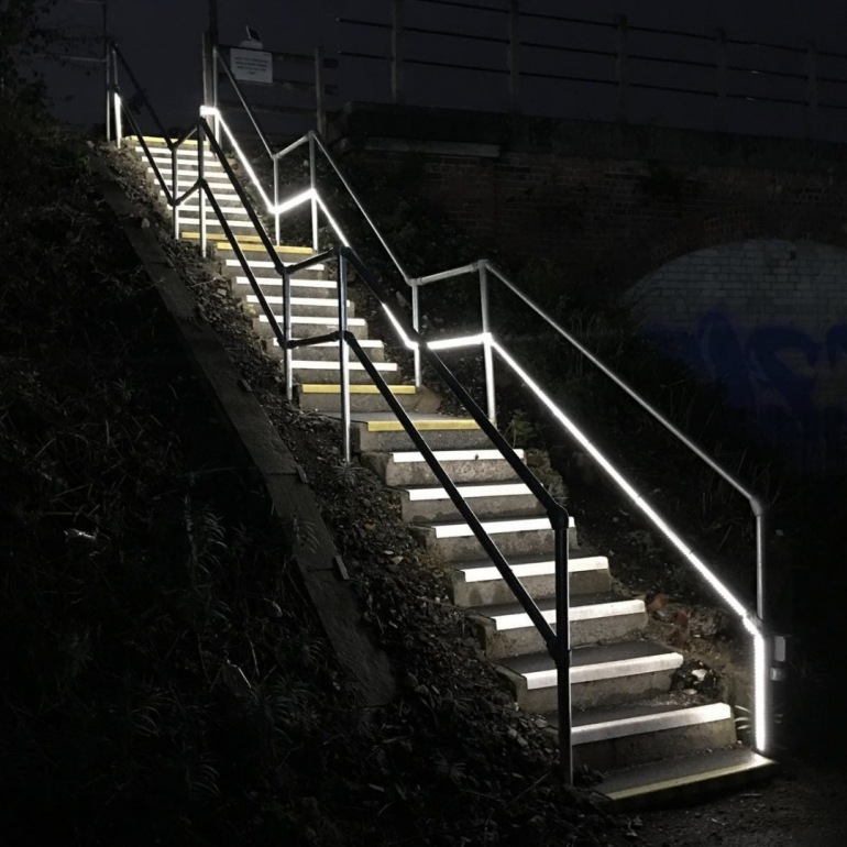 Solar LED Access Point Lighting